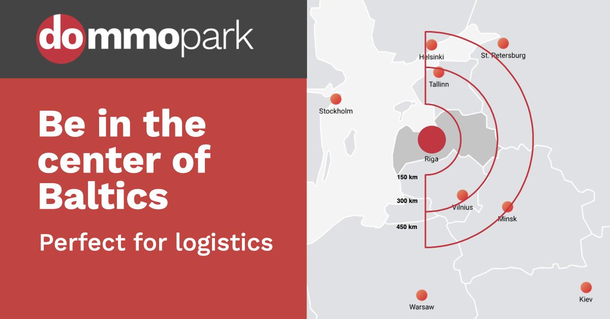Logistics facilities in Latvia